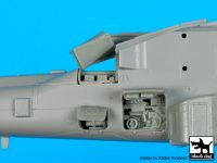 A72080 1/72 AH-64 D Rear electronics Blackdog