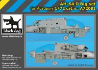 A72081 1/72 AH-64 D big set