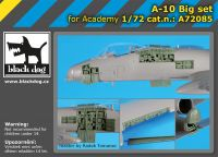 A72085 1/72 A-10 Big set Blackdog