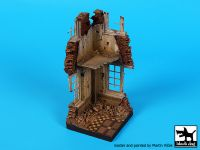 D35108 1/35 House corner N°7 base Blackdog