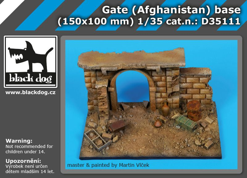 D35111 1/35 Gate (Afghanistan) base Blackdog