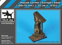 D35112 1/35 House corner (Europe) base