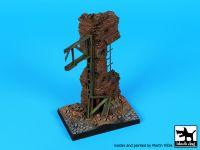 D35113 1/35 Stalingrad factory ruin base Blackdog