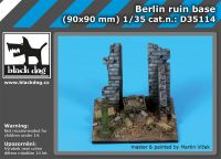 D35114 1/35 Berlin ruin base