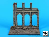 D48002 1/48 House ruin (Europe) base Blackdog