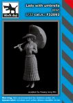 F32093 1/32 Lady with umbrella WW I