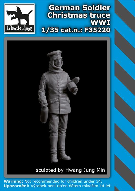 F35220 1/35 German soldier Christmas truce WW I Blackdog
