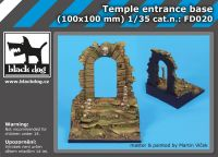 FD020 Temple entrance base