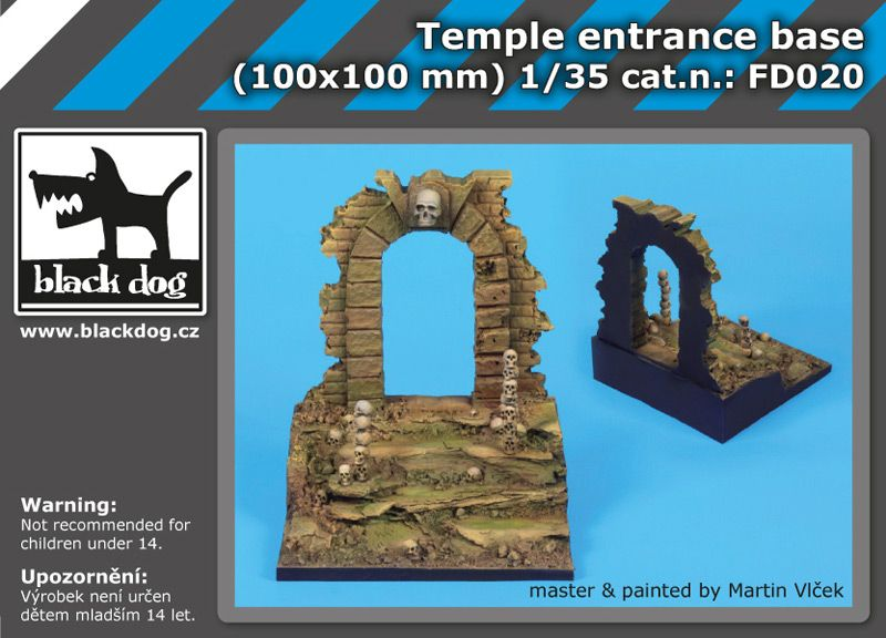 FD020 Temple entrance base Blackdog