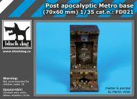 FD021 Post apocalyptic metro base Blackdog