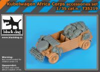 T35219 1/35 Kübelwagen Africa Corps accessories set