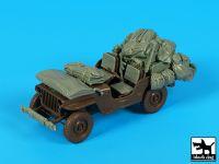 T35221 1/35 US Jeep accessories set Blackdog