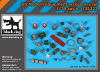 T35222 1/35 US Modern equipment accessoris set