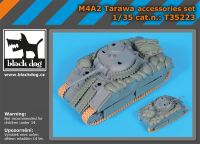 T35223 1/35 M4A2 Tarawa accessories set