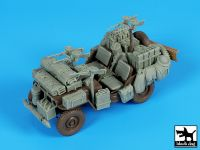 T35224 1/35 British SAS jeep Africa accessories set Blackdog