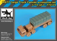 T72115 1/72 M 977 Cargo truck canvas accessories set