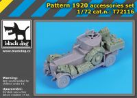 T72116 1/72 Pattern 1920 accessories set