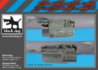 A48107 1/48 F-104 electronics+canon