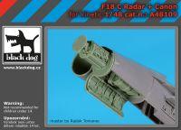 A48109 1/48 F 18 C radar+canon