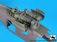 A48116 1/48 PZL W-3A Sokol engine Blackdog