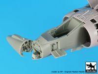 A48121 1/48 Harrier GR 7 radar+electronics Blackdog