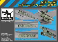 A72093 1/72 F-18 Big set