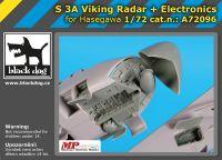A72096 1/72 S 3 A Viking radar + electronics
