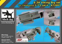 A72097 1/72 S 3 A Viking big set