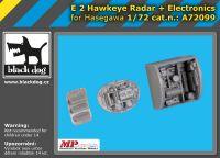 A72099 1/72 E-2 Hawkeye radar+electronics Blackdog