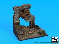 D35115 1/35 Europe street ruin base Blackdog