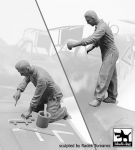 F32109 1/32 Luftwaffe mechanics personnel 1940-45 set Blackdog