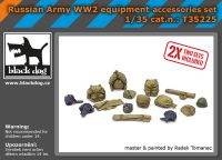 T35225 1/35 Russian Army WW2 equipment accessories set