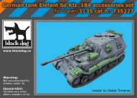 T35227 1/35 German tank Elefant Sd.Kfz 184 accessories set
