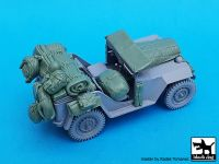 T35228 1/35 Russian field car Gaz 67 B accessories set Blackdog