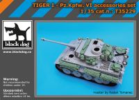T35229 1/35 Tiger I Pz Kpfw VI accessories set