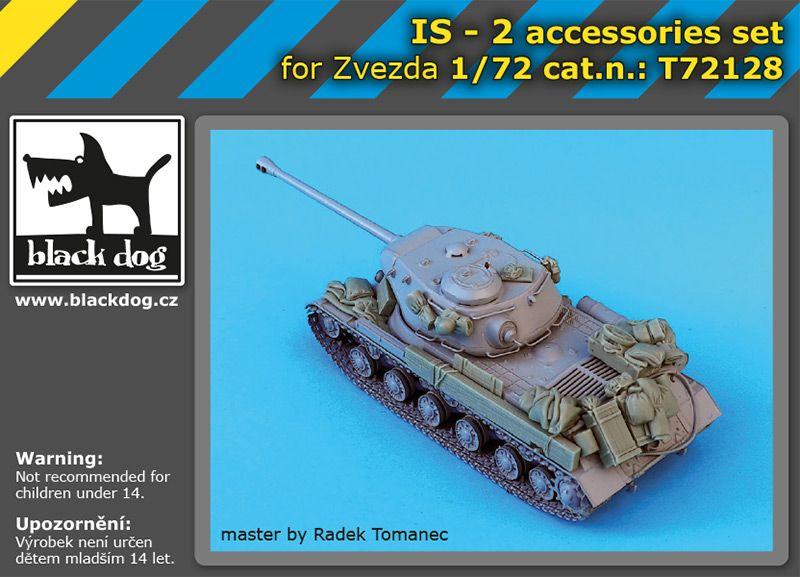 T72128 1/72 IS-2 accessories set Blackdog