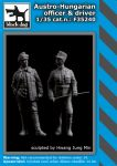 F35240 1/35 Austro - Hungarian officer & driver