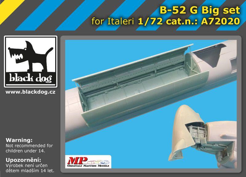 A72020 1/72 B-52 G big set Blackdog