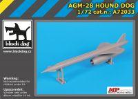 A72033 1/72 AGM- 28 Hound Dog