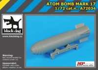 A72034 1/72 Atom bomb Mark 17 Blackdog