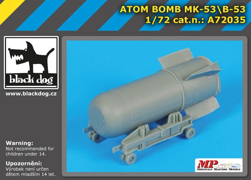 A72035 1/72 Atom bomb Mk-53/B-53 Blackdog
