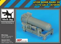 A72036 1/72 Atom bomb Mark 39