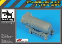 A72037 1/72Atom bomb Mark 4/B-41 Blackdog