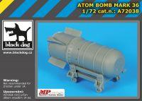 A72038 1/72 Atom bomb Mark 36 Blackdog