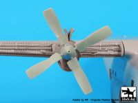 A72042 1/72 C-130 propeller Blackdog