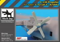 A72042 1/72 C-130 propeller Blackdog