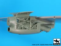 A72047 1/72 C-27 J Spartan 1 engine Blackdog