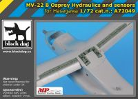 A72049 1/72 MV- 22B Osprey Hydraulics and sensors