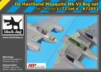 A72052 1/72 De Havilland Mosquito Mk VI Big set