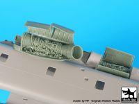 A72053 1/72MH-53E Sea Dragon Engines Blackdog